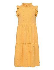 Sunbed frill shoulder dress - SUN