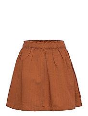 Woven skirt - OCHER