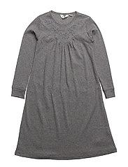 Bedtime dress - PALE GREYMARL