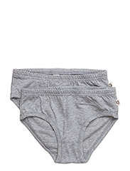 Cozy me underpants girl - PALE GREYMARL