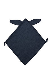 Muslin rabbit blankie - MIDNIGHT