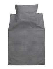 Stripe bed linen junior - NAVY