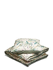 Spicy botany bed linen adult - CREAM