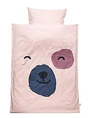 Spot front bed linen junior - ROSE
