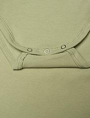 Müsli by Green Cotton - Cozy me s/sl body - kurzärmelige - pale moss - 3