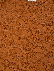 Müsli by Green Cotton - Rhino beach body - kurzärmelig - ocher - 2