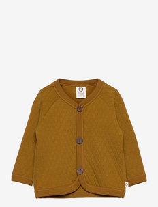 Quilt jacket baby - gilets - pesto