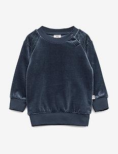Velvet shirt - MIDNIGHT
