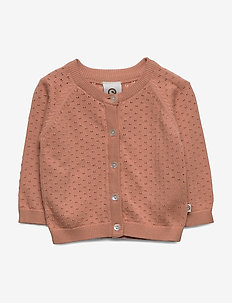 Knit cardigan - cardigans - dream blush
