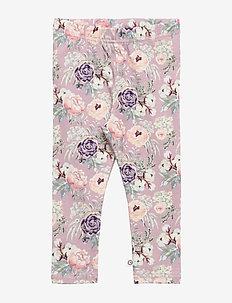 Spicy bloom leggings baby - ROSE
