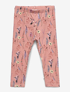 Hummingbird leggings baby - leggings - dream blush