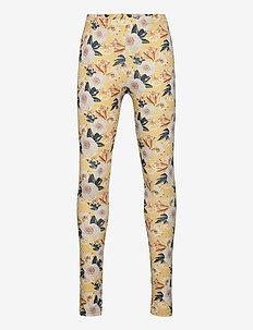 Bloom leggings - sun