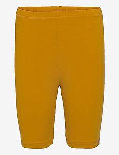 Cozy me tights - shorts - mustard