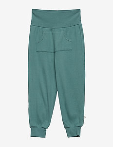 Cozy pocket pants - DREAM GREEN