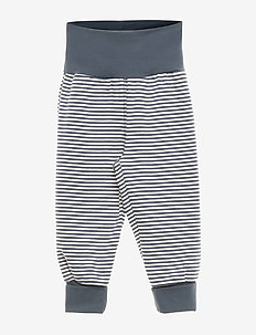 Stripe pants - bukser - midnight
