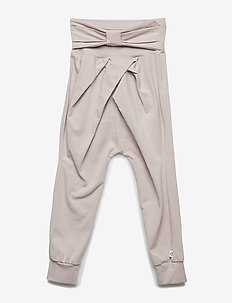 Cozy me bow pants - ROSE