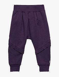 Slub sweat pants girl - LAVENDER
