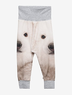 Spicy bear pants - PALE GREYMARL