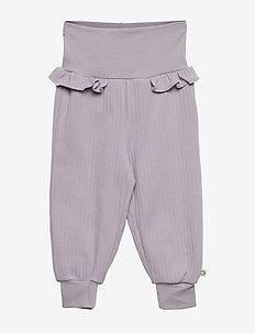 Cozy pants - LIGHT LAVENDER