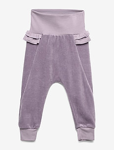 Velvet pants - spodnie - ash