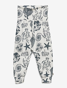 Seashell pants - sweatpants - cream