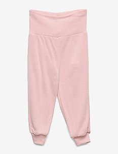 Woolly silk pants - sweatpants - rose whip