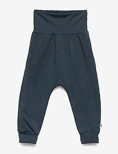 Cozy me cuttings pants - spodnie - midnight