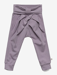 Cozy me bow pants - trousers - ash