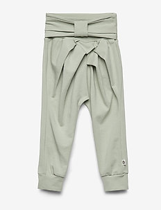 Cozy me bow pants - spodnie - misty green