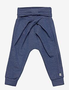 Denim bow pants - hosen - denim