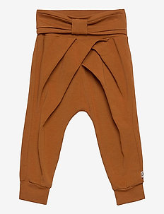 Cozy me bow pants - bukser - ocher