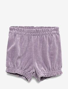 Velvet bloomers - shorts - ash