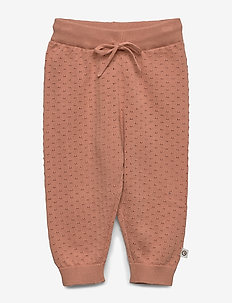 Knit pants - bukser - dream blush