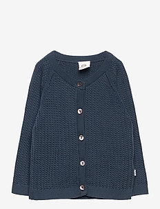 Knit cardigan - neuletakit - midnight