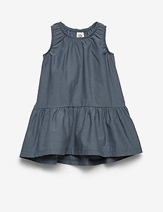 Chambray dress - dresses - chambray