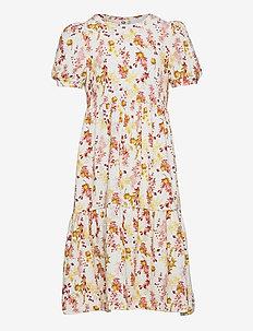 Calendula dress - kleider - cream