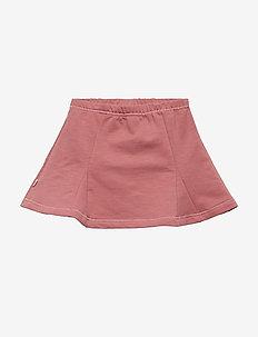 Slub sweat skirt - DREAM ROSE