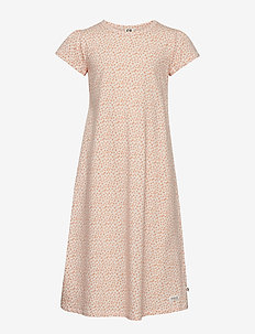 Spot night dress - LIGHT PEACH