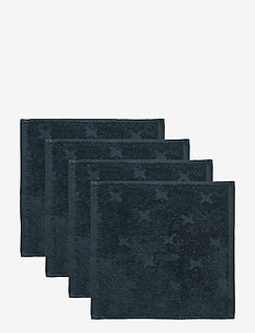 Washcloth 4-PACK - akcesoria - midnight