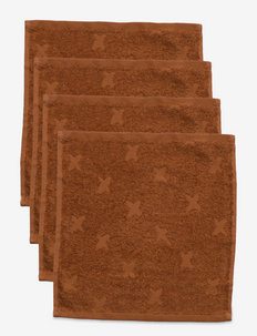 Washcloth 4-PACK - bademode - nut