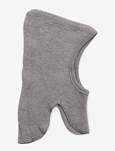 Woolly fleece hat - PALE GREYMARL