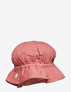 Woven beach hat - DREAM ROSE