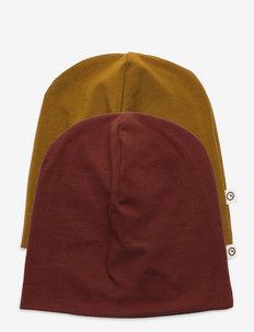 Cozy me beanie baby 2-pack - czapka beanie - fudge