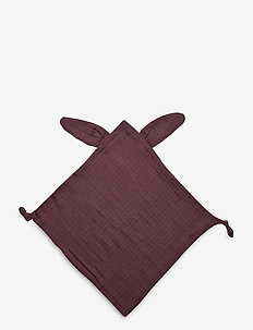 Muslin rabbit blankie - cuddle blankets - flint