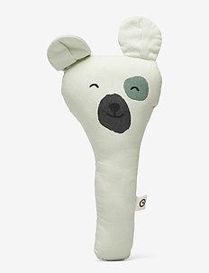 Teddy rattle - DUSTY GREEN