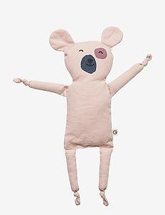 Teddy blankie - ROSE