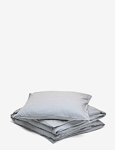 Stripe bed linen adult LONG - beddings - midnight