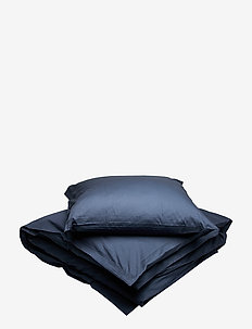 Solid bed linen adult LONG - MIDNIGHT