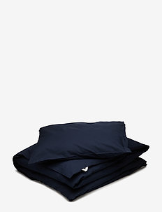 Solid bed linen adult LONG - NAVY