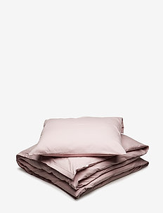 Solid bed linen adult LONG - ROSE